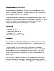 The Illustrated Man Analysis Essay | Schoology.pdf
