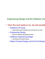 L19 - life cycle and process models