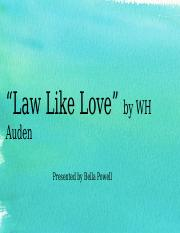 Law Like Love.pptx