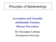 Causality, AF and Prevention