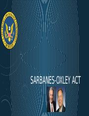 MJD6063 - Week 4 Sarbanes-oxley Act.pptx