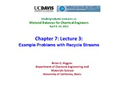 Chapter 7_ Recycle Problems