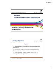 MS Lecture 6 - Product and Innovation Management - 2018.pdf