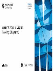 With_answers_Week 10 - Cost of Capital.pdf