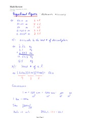 PHYS 11 Significant Figures Notes