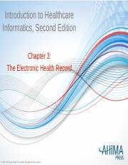 Chapter 3 The Electronic Health Record.pptx