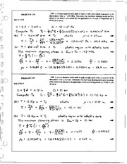 235_Mechanics Homework Mechanics of Materials Solution