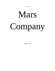 Mars Company 2nd document