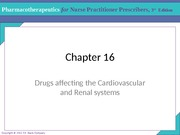 LIU 644 CVD and renal drugs