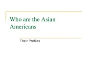 Who are the Asian Americans