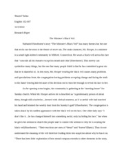 "fire and ice"" by robert frost poetry analysis paper shantel  4 pages the minister s black veil essay paper"