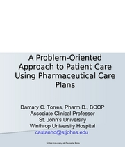 Care Planning and MTM 2008