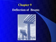 Ch9DeflectionofBeams