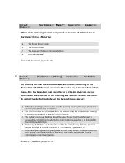 Module 2 Quiz Answers