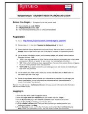 Instructions+for+Student+Registration+-+My+Spanish+Lab