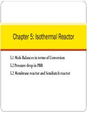 5-1+Isothermal+reactor