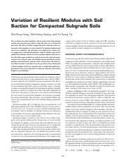 Variation of Resilient Modulus with Soil Suction for       Compacted Subgrade Soils.pdf