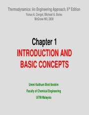 Chapter 1 INTRODUCTION AND BASIC CONCEPTS