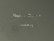 Finance_Systems_Quick_Summary