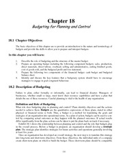 TG Management Accounting Chapter 18
