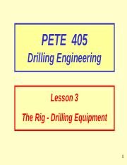 3. The Rig - Drilling Equipment.pdf