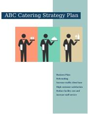 ABC Catering Strategy Plan