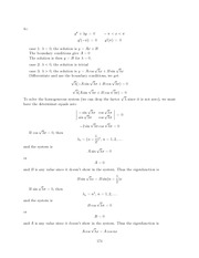 Differential Equations Lecture Work Solutions 174