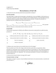 chapter 3 electrochemistry of fuel cells