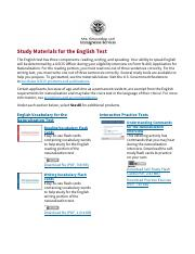 Study Materials for the English Test _ USCIS