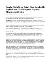 Supply Chain News.docx