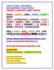 ISBM_CASE_STUDY_ANSWERS_AND_SOLUTIONS