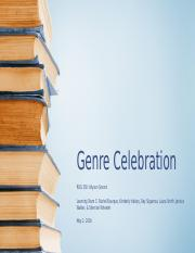 Week 5 - Team Assignment - Genre Celebration updated