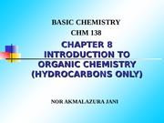 CHAPTER 8-introduction to organic chemistry latest DEC2013