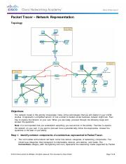 1.2.4.5 Packet Tracer - Network Representation (1)