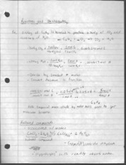 reactions and stoichiometry, theoretical yield notes