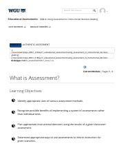 What is Assessment_ _ Educational Assessments chapter 11.pdf