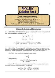 4 Solution Set 4 on chapters 8&9