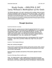 307 Study Guide Marketplace of Gods