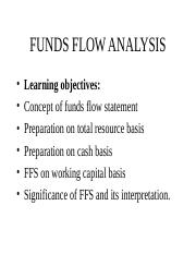 finesse_fund flow statement