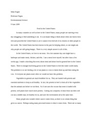 science final essay