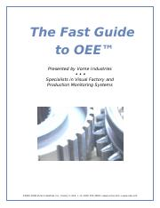fast-guide-to-oee