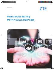 Multi-Service Bearing MSTP Product ZXMP S385_EN_201608(for printing).pdf