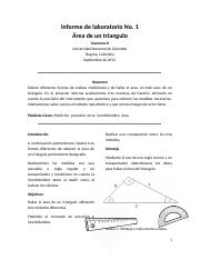 Informe de laboratorio No