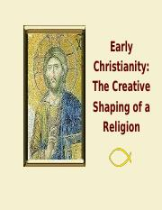 14 Early Christianity