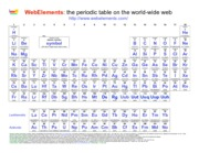 Webelemperiodictable webelements the periodic table on the world webelemperiodictable webelements the periodic table on the world wide web httpwebelements 1 hydrogen 2 3 4 5 6 7 8 9 10 11 12 13 14 15 16 urtaz Choice Image