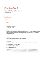 ProblemSet 2 answers