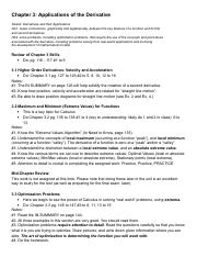Unit 7 Outline Applications of the Derivative.pdf