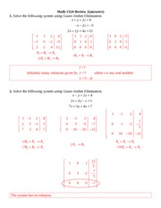 Math 1324 Review 2 answers