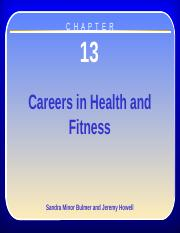Chapter 13 - Careers in Health and Fitness
