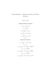 Swing Equation